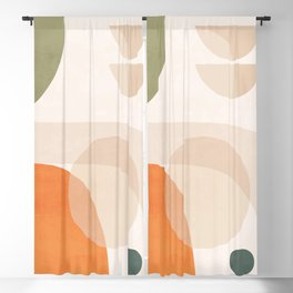 Abstract Minimal Shapes 41 Blackout Curtain