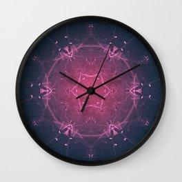 God Particle Mandala Wall Clock