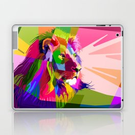 Colorful Lion Head (Illustration) Laptop & iPad Skin