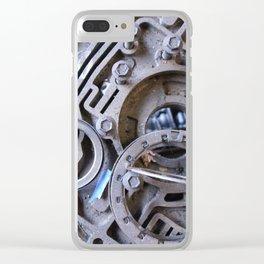 Gears II Clear iPhone Case