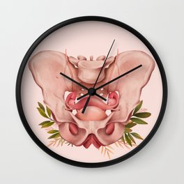 Berço (Pelvis) Wall Clock