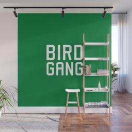Bird gang Wall Mural