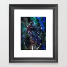 Negative 2 Framed Art Print