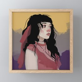 Erin Framed Mini Art Print