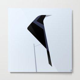 Tordo / Austral blackbird Metal Print