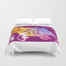 Year of the Boar Duvet Cover