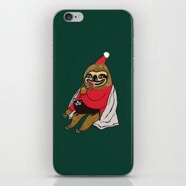 Christmas Sloth iPhone Skin