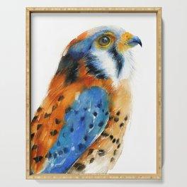 Kestrel Falcon Serving Tray