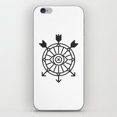 shield of arrows iPhone Skin