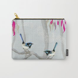 Blue Wren Australian Birds Carry-All Pouch