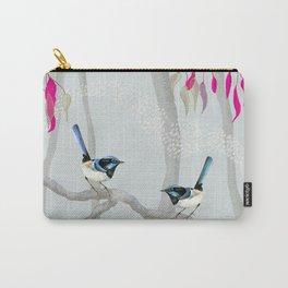 Blue Wren Australian Birds Carry-All Pouch