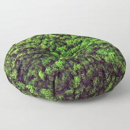 Dark Green Moss Floor Pillow