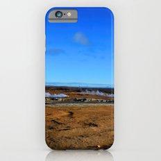 Namafjall geothermal Iceland Panorama iPhone 6s Slim Case