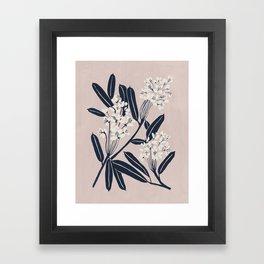 Boho Botanica Framed Art Print