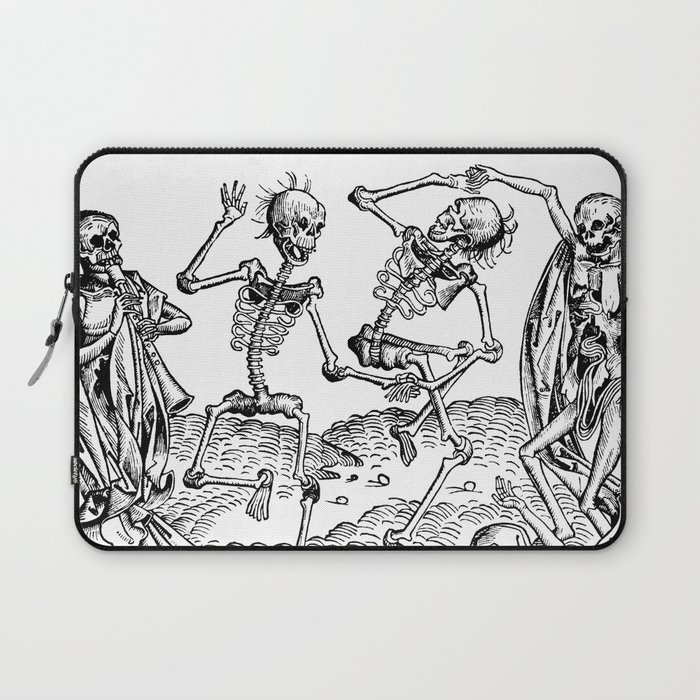 Danse Macabre Laptop Sleeve
