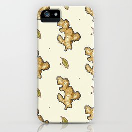 ginger root power iPhone Case
