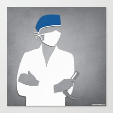 Anesthesiology Canvas Print