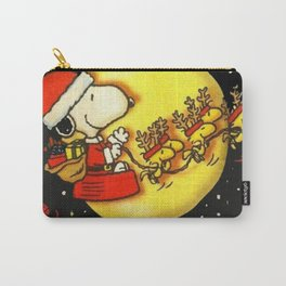 santa snoopy Carry-All Pouch