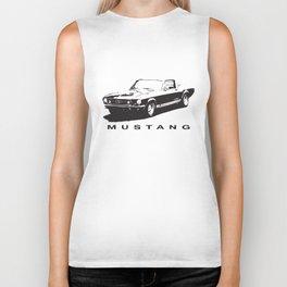 Mustang Design Biker Tank