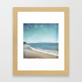 Strand Framed Art Print