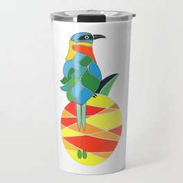 Bobo bird on a pineapple Travel Mug