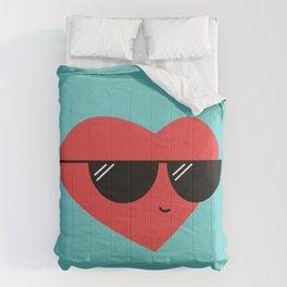 Cool Heart Comforters