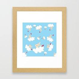 Sky Gifts Framed Art Print