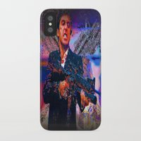 scarface iPhone & iPod Cases featuring scarface by Moonlight Creations