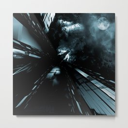 Daydreams Like Mainframes 006: Eclipse Metal Print