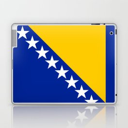 Bosnia And Herzegovina Flag Laptop & iPad Skin