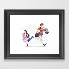 Academic Evolution Framed Art Print