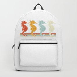 Colorful Seahorse Backpack