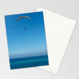 Paragliding  Stationery Cards