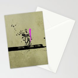 PINK_HERO_SERIES_1 Stationery Cards