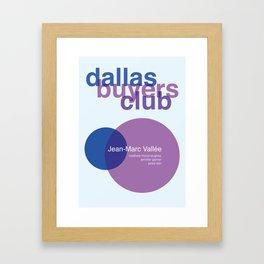 Dallas Buyers Club Framed Art Print