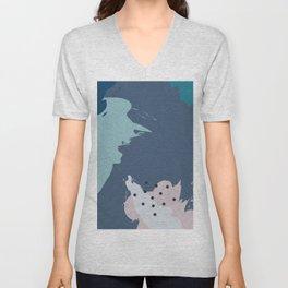 Topography I Unisex V-Neck