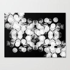 Bokeh Symmetry 3 Canvas Print
