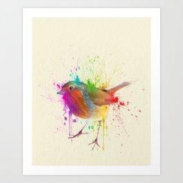 Bird Study Art Print
