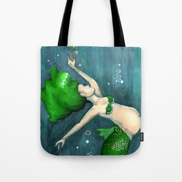 Emerald (May) Tote Bag