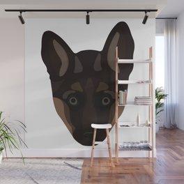 German Shepard Puppy Decal Wall Mural