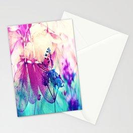 Butterfly in Wonderworld 2 Stationery Cards