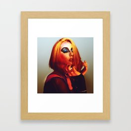 Rainbow Bowie  Framed Art Print