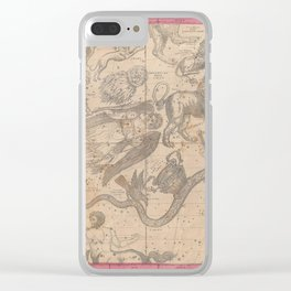 Burritt - Huntington Map of the Constellations or Stars in April, May and June (1856) Clear iPhone Case