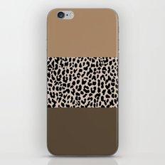 Leopard National Flag XVIII iPhone & iPod Skin