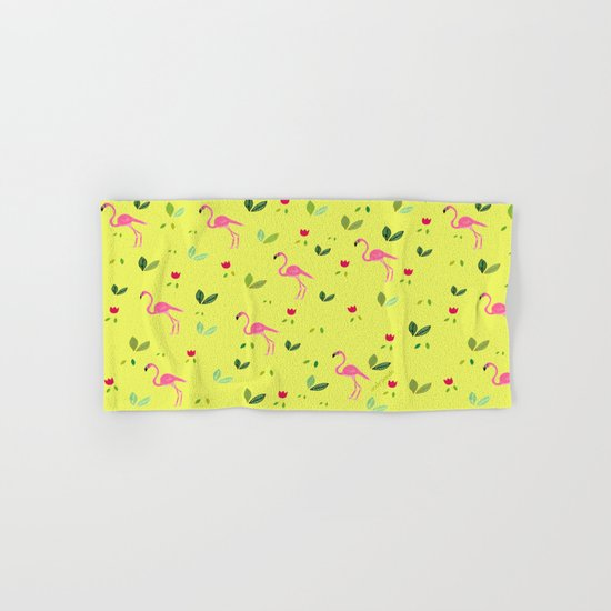 Flamingos and company Hand & Bath Towel