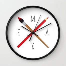 MAKE Wall Clock