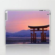 Miyajima Torii at Sunset Laptop & iPad Skin