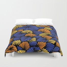 Happy abstract: Jungle Nr:03 Duvet Cover