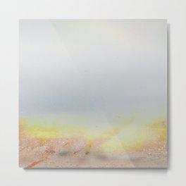 Abstract Minimalist Desert Landscape Metal Print