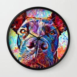 Labrabull / Pitador Wall Clock